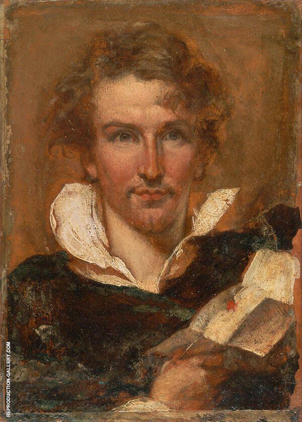 Self Portrait 1823 By William Etty