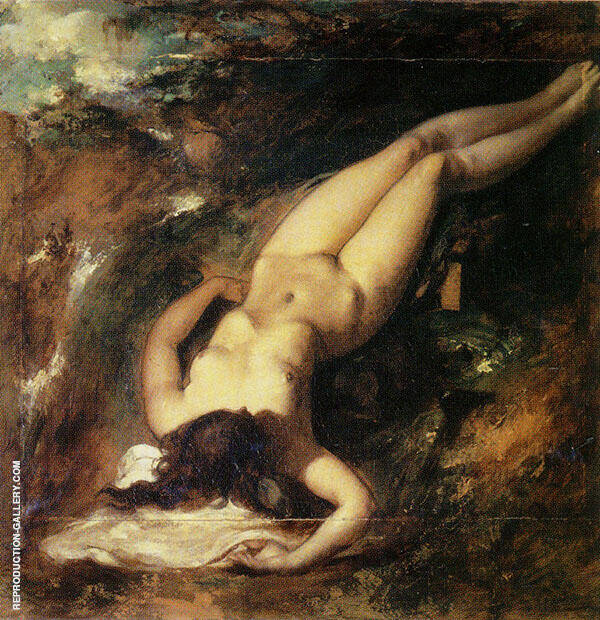 The Deluge c1835 By William Etty