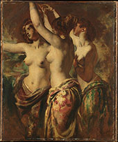The Three Graces By William Etty