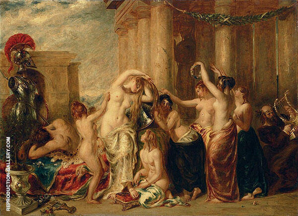 Venus and Her Satellites 1835 By William Etty