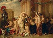 Venus and Her Satellites 1835 By William Etty