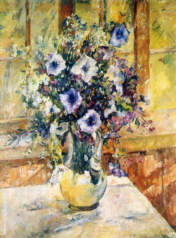 Bluebells Painting By Aristarkh Vasilyevich Lentulov