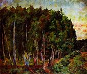 Landscape with Trees By Aristarkh Vasilyevich Lentulov