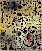 The Beautiful Bird Revealing the Unknown to a Pair of Lovers By Joan Miro