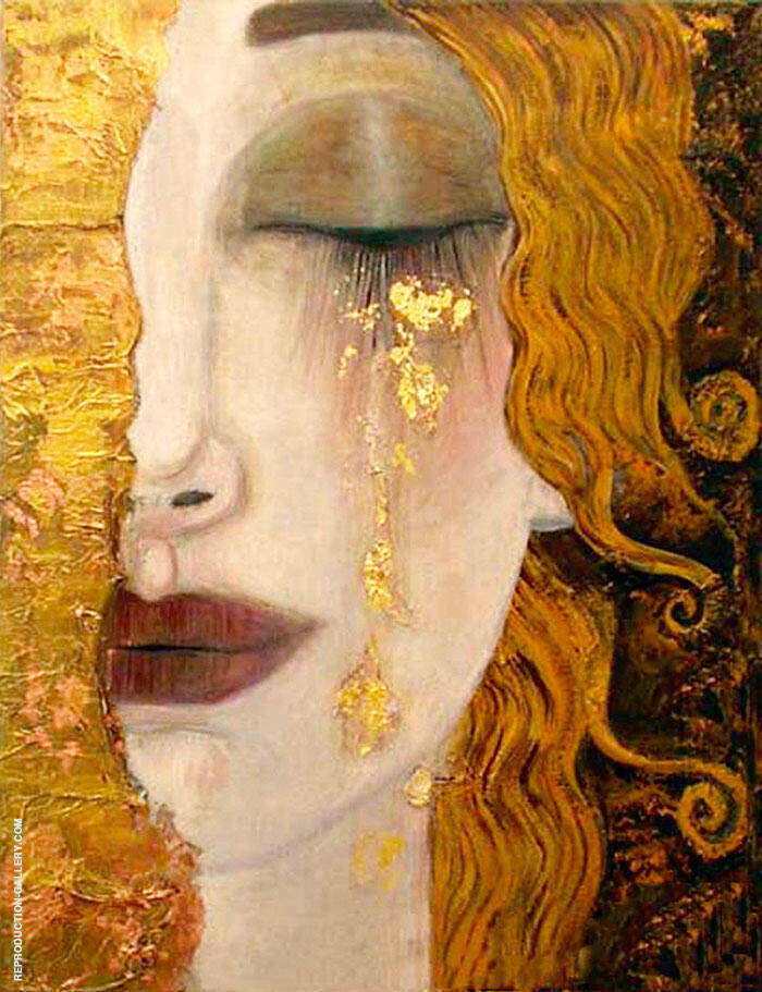 Tears of Gold By Gustav Klimt