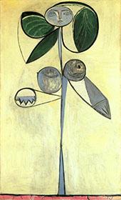 La Femme Fleur 1946 By Pablo Picasso