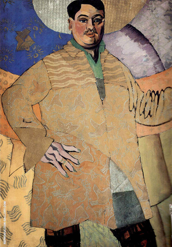 Self Portrait 1915 Painting By Aristarkh Vasilyevich Lentulov