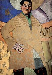Self Portrait 1915 By Aristarkh Vasilyevich Lentulov