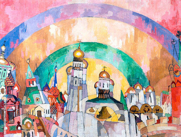 Skybell Painting By Aristarkh Vasilyevich Lentulov - Reproduction Gallery