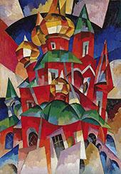 The Red Church By Aristarkh Vasilyevich Lentulov