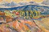 Zhiguli Mountains By Aristarkh Vasilyevich Lentulov