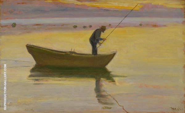 Aalestangeren By Michael Peter Ancher