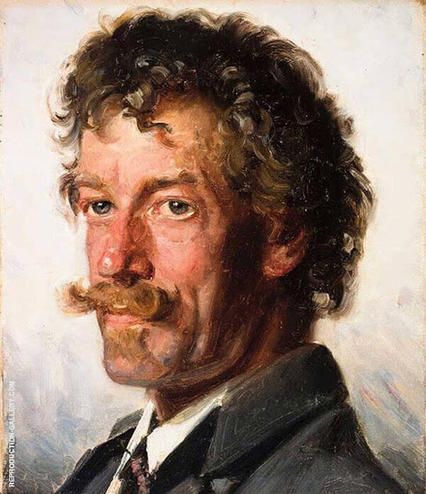 Anton Svendsen By Michael Peter Ancher
