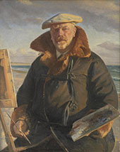 Self Portrait 1902 By Michael Peter Ancher