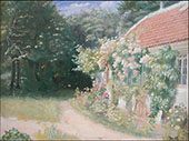 The Old Garden House By Michael Peter Ancher