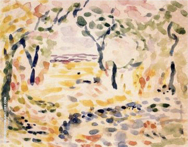 Collioure Painting By Henri Matisse - Reproduction Gallery
