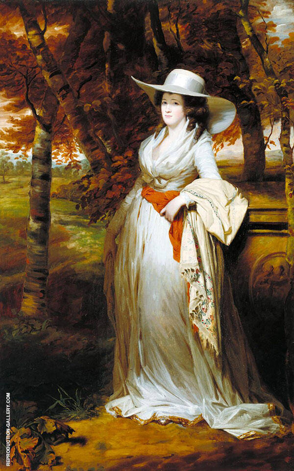 Mrs Downey 1787 By Sir Henry Raeburn