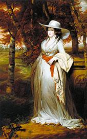Mrs Downey 1787 By Sir Henry Raeburn