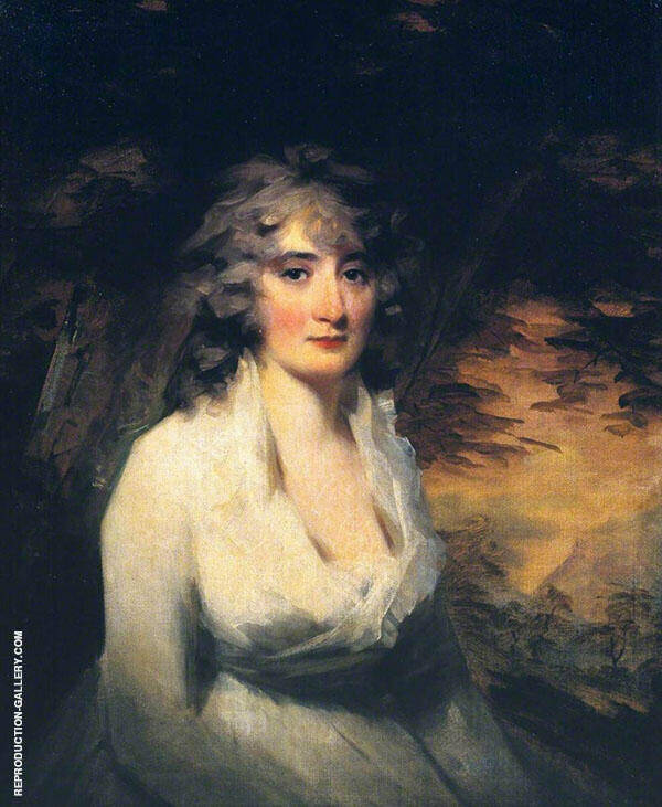 Mrs H W Lauzun c1796 By Sir Henry Raeburn