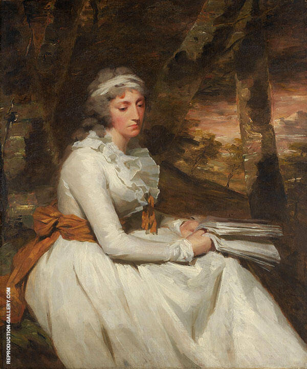 Mrs Richard Alexander Oswald c1794 By Sir Henry Raeburn