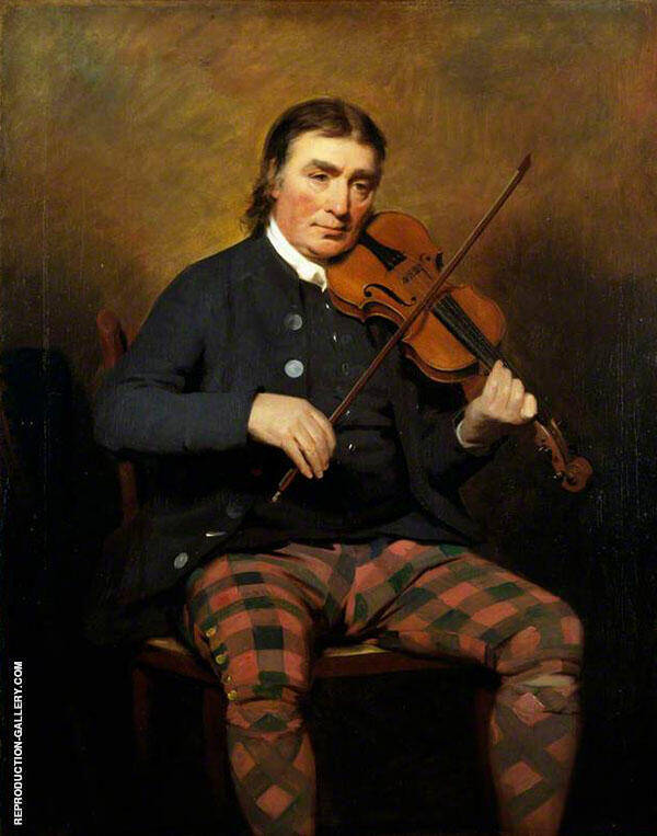 Niel Gow Violinist and Composer By Sir Henry Raeburn