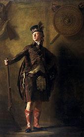 Portrait of Alexander Ranaldson Macdonell of Glengarry 1812 By Sir Henry Raeburn