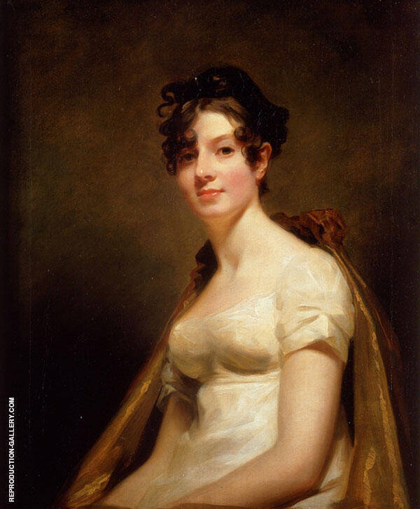 Portrait of Elizabeth Campbell Marchesa di Spineto c1812 By Sir Henry Raeburn