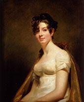 Portrait of Elizabeth Campbell Marchesa di Spineto c1812 By Sir Henry Raeburn