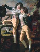Portrait of James and John Lee Allen 1790 By Sir Henry Raeburn