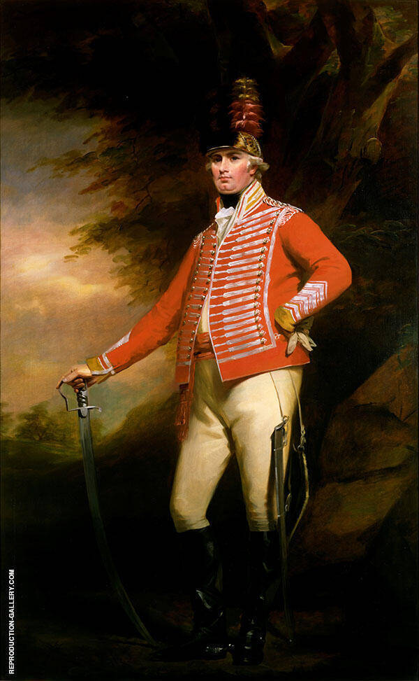 Portrait of Lieutenant Colonel William Shirriff By Sir Henry Raeburn