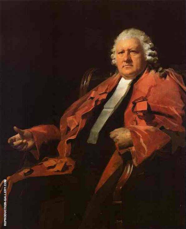 Portrait of Lord Newton 1806 Painting By Sir Henry Raeburn