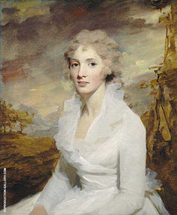 Portrait of Ms Eleanor Urquhart 1793 Painting By Sir Henry Raeburn