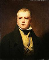 Portrait of Sir Walter Scott 1822 By Sir Henry Raeburn