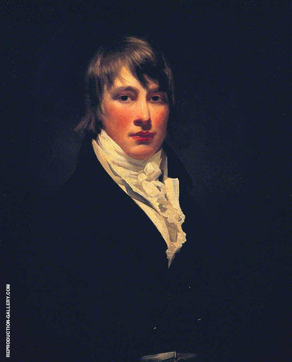 Pringle Fraser c1804 Painting By Sir Henry Raeburn - Reproduction Gallery
