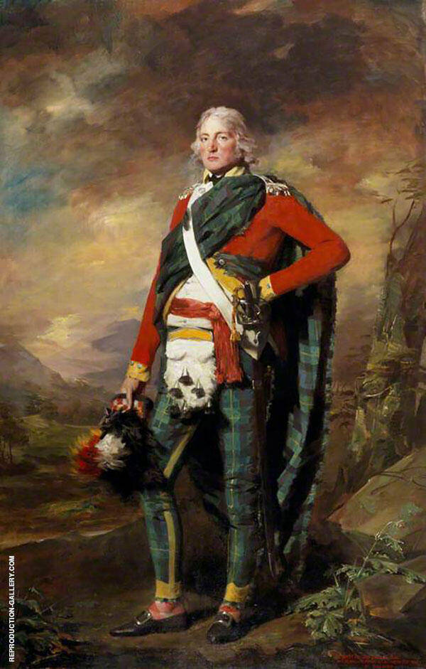 Sir John Sinclair Painting By Sir Henry Raeburn - Reproduction Gallery