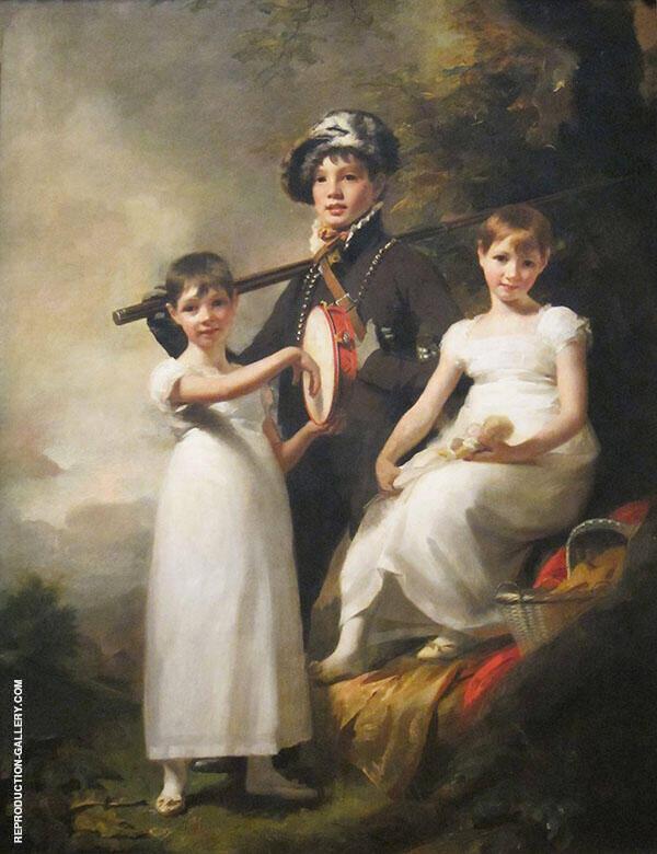 The Elphinston Children Painting By Sir Henry Raeburn