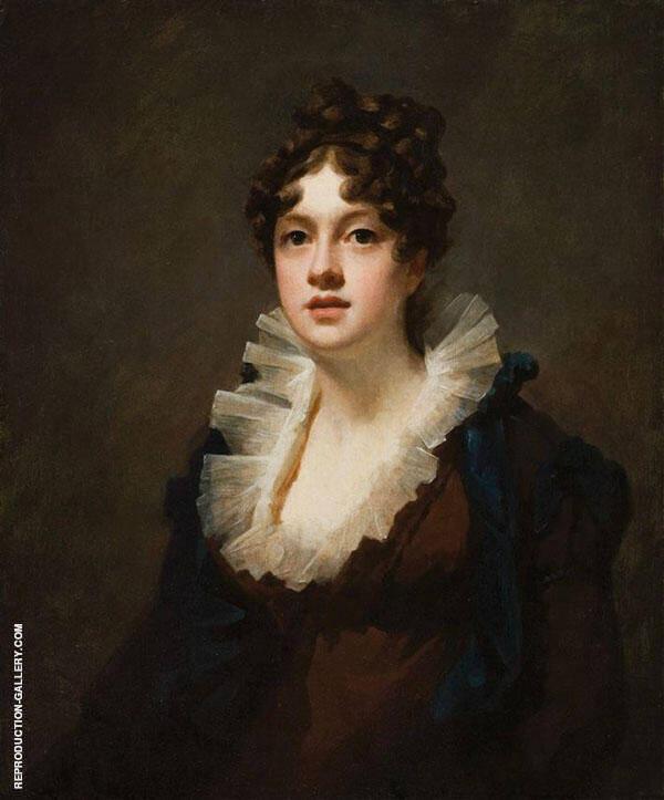 The Hon Mrs Grant of Kilgraston c1820 Painting By Sir Henry Raeburn