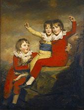 The Macdonald Children By Sir Henry Raeburn