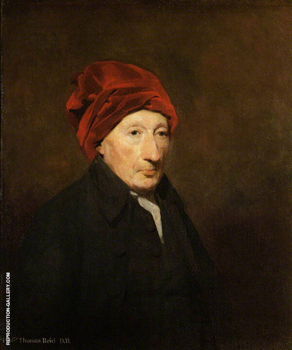 Thomas Reid Professor of Moral Philosophy at Glasgow Painting By ...