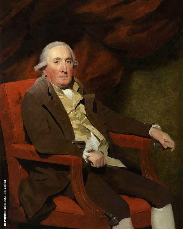William Fairlie of Fairlie Painting By Sir Henry Raeburn