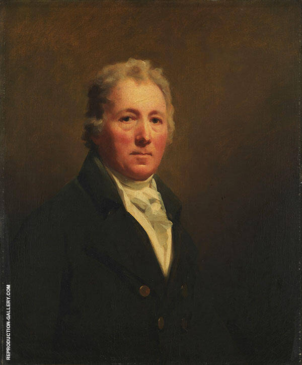 William Forsyth 1800 Painting By Sir Henry Raeburn - Reproduction Gallery