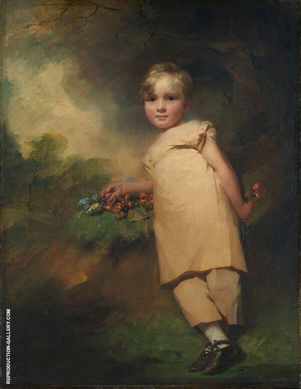 William Scott Elliot of Arkleton Painting By Sir Henry Raeburn