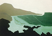 Green Sea 1954 By Milton Avery