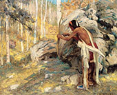 Hunting The Turkey in The Aspens 1926 By E. Irving Couse