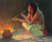 The Arrow Maker 1921 By E. Irving Couse