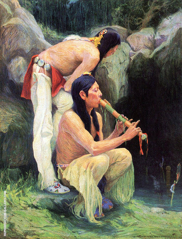The Magic Flute 1918 By E. Irving Couse