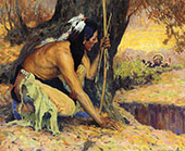 The Turkey Hunter 1926 By E. Irving Couse