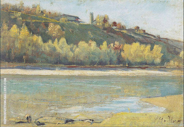 At The Jonction 1880 By Ferdinand Hodler