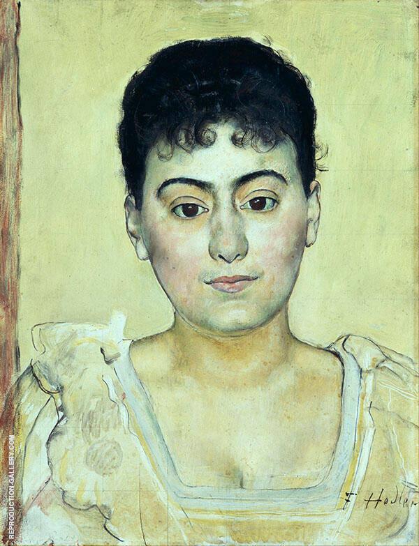 Madame de R 1893 By Ferdinand Hodler