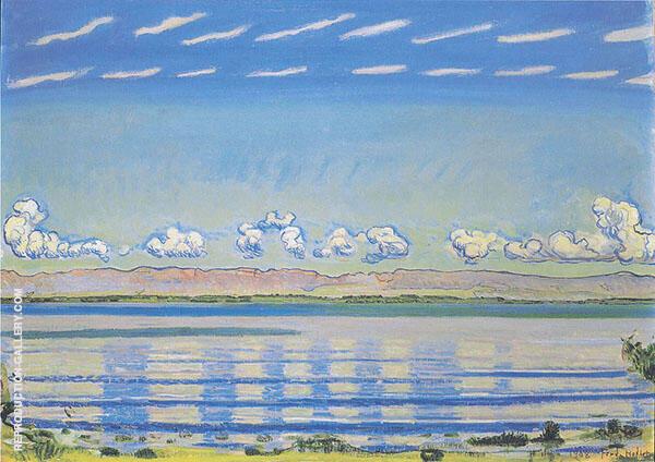 Rhythmische Landschaft am Genfersee 1908 By Ferdinand Hodler